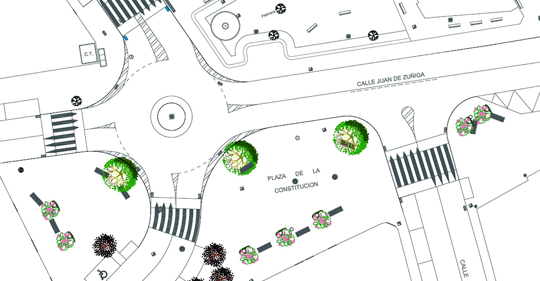 El Ayuntamiento informa del inminente inicio de la remodelación de la Plaza de la Constitución