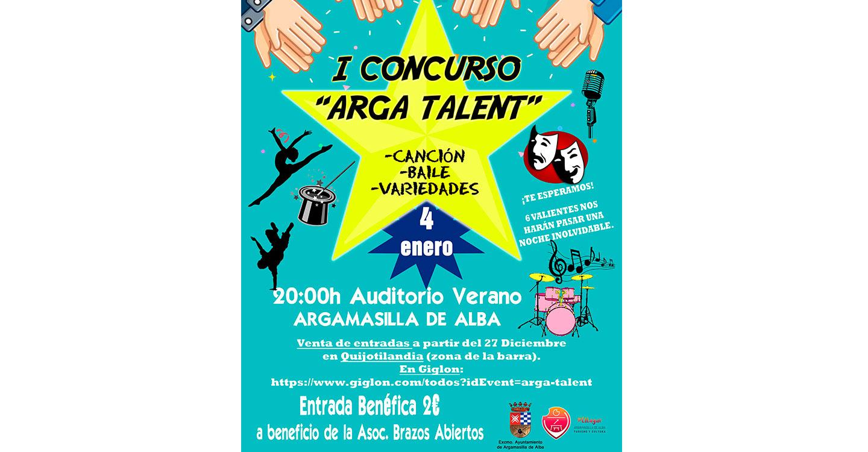 Este sábado se celebra I Concurso 'Arga Talent'