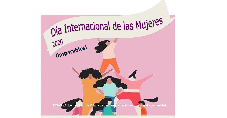 Villarta de San Juan se suma a la conmemoración del Día Internacional de la Mujer