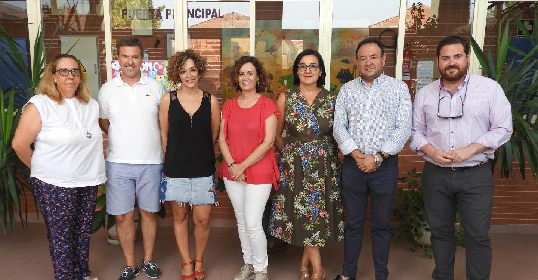 Los conserjes escolares contratados por el Ayuntamiento se incorporan a los colegios públicos de Manzanares