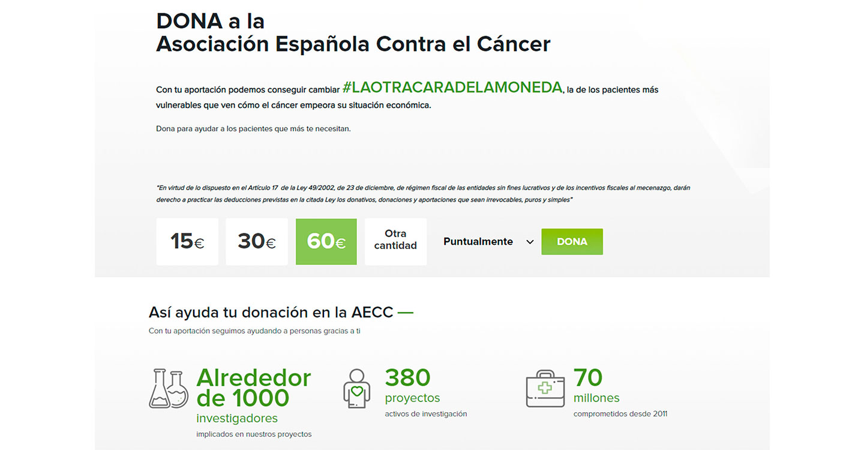 La AECC de Argamasilla de Alba recibe una donación de 4.000 euros