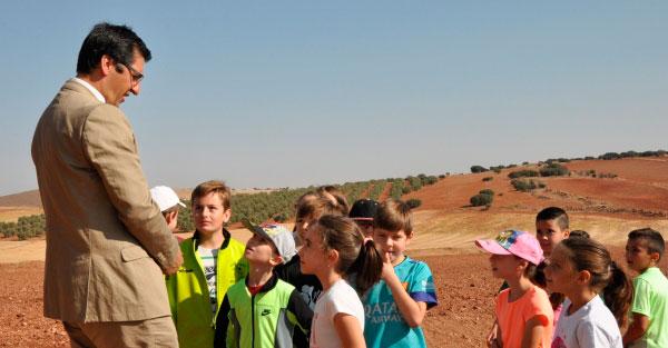 La Diputación difunde entre los escolares la riqueza natural y patrimonial de la provincia con la colaboración de los colegios