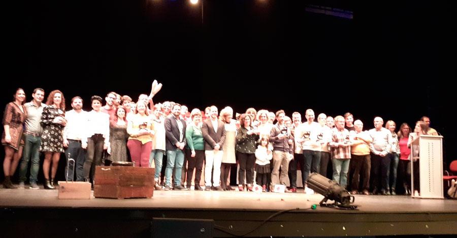 Entregados en Herencia los premios de la XXIX Muestra Provincial de Teatro de la Diputación