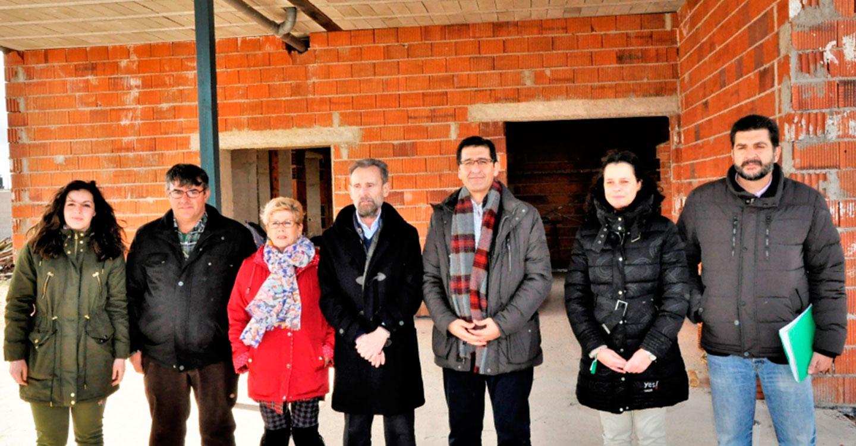 Diputación invierte 150.000 euros en la construcción del Centro de Mayores de Las Labores