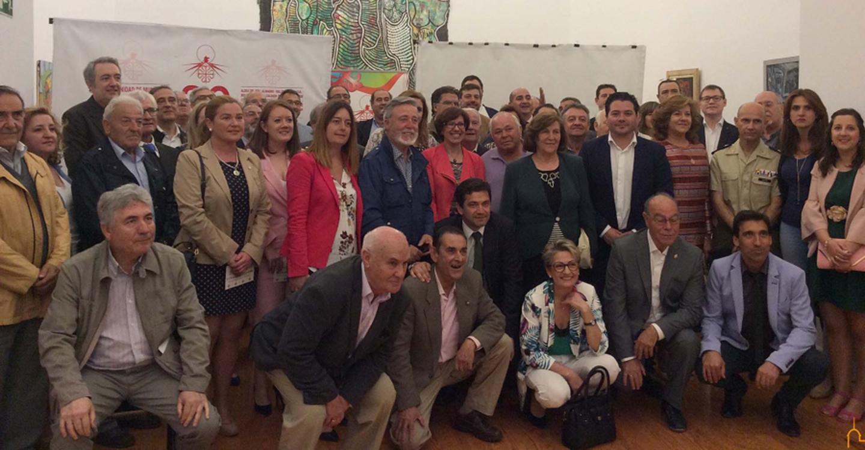 Triguero asiste al 30 aniversario de la fundación de la Mancomunidad del Campo de Calatrava
