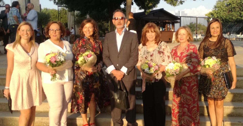 Tradicional acto homenaje a los mayores en Valdepeñas