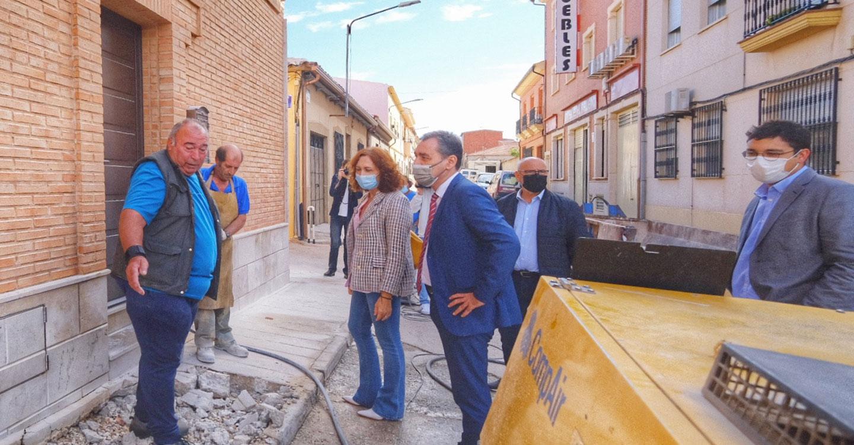 Tierraseca visita el desarrollo del Plan de Empleo de Zonas Rurales Deprimidas en Ciudad Real, provincia que ha recibido una inversión de 4,5 millones de euros