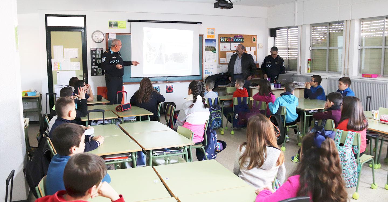 Arrancan las charlas de educación vial en los colegios de Manzanares