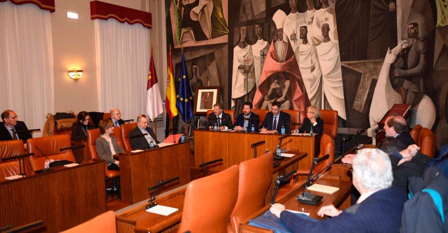 La Diputación acoge el nombramiento de Francisco Manuel Jiménez como consejero del Instituto de Estudios Manchegos