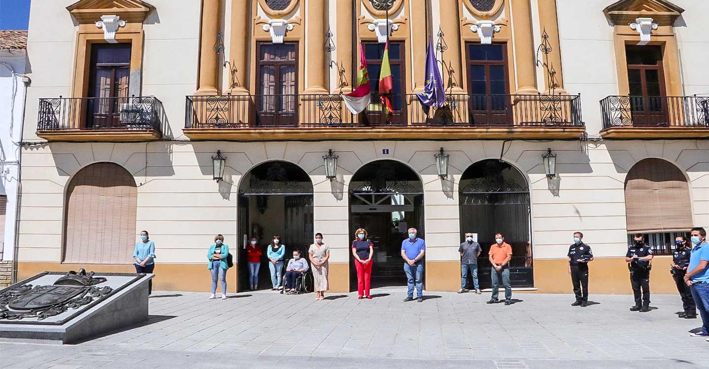 Almodóvar del Campo ha compartido nuevo minuto de silencio por todas las víctimas de la Covid-19