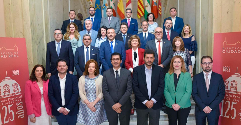 El Pleno conmemora y celebra 125 años de trabajo por la provincia y sus gentes desde el Palacio de la Diputación