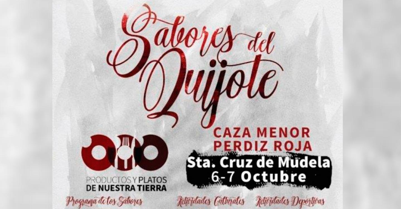 """Mañana, los """"Sabores del Quijote"""" de la Diputación llegan a Santa Cruz de Mudela con la caza menor y la perdiz roja como producto singular"""