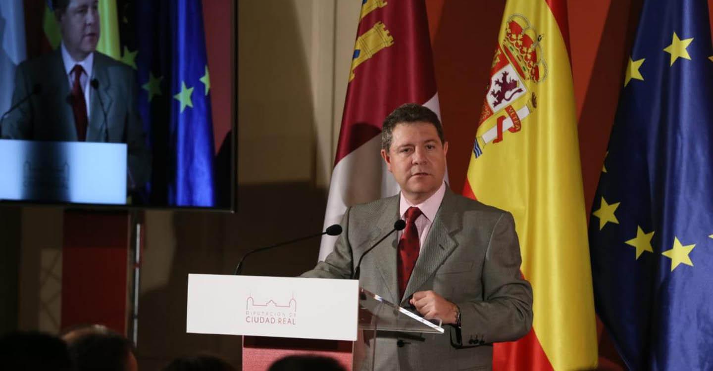 García-Page destaca el papel que han jugado las diputaciones en el éxito alcanzado por España a lo largo de sus cuarenta años de Constitución