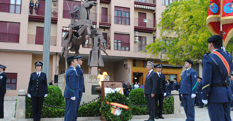 Valdepeñas rindió homenaje a los Héroes del 6 de Junio de 1808