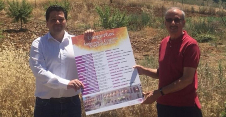 """""""Mago de Oz"""" actúa en Alcolea de Calatrava dentro de los conciertos en lugares emblemáticos de la Diputación de Ciudad Real"""