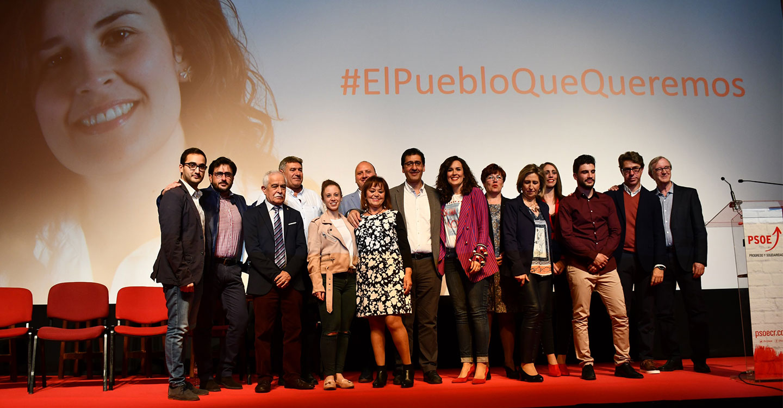"""Caballero pide el respaldo mayoritario de la ciudadanía """"para que el PSOE pueda seguir mejorando la vida de la gente"""""""