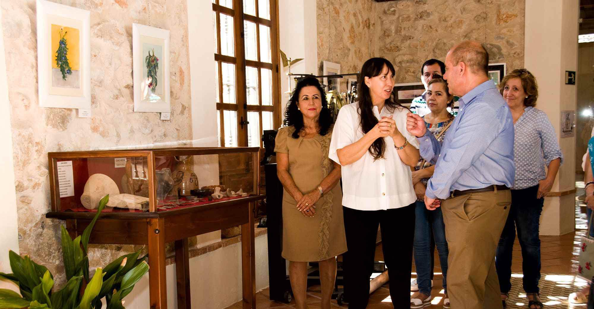 Villarrubia de los Ojos rinde homenaje al vino con las obras de la manchega Ana Ramírez