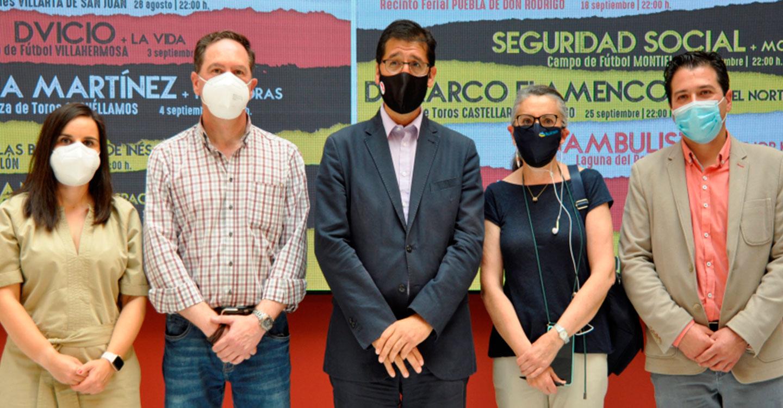 """Camela llega a Chillón, de la mano de los """"Conciertos Emblemáticos"""" de la Diputación de Ciudad Real"""