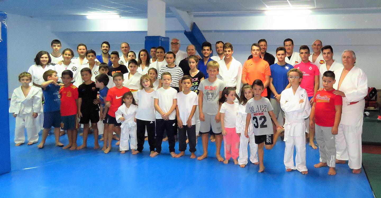 Julián Nieva inaugura la 22ª temporada de la Escuela Municipal de Judo