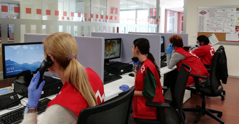 Cruz Roja llama a la población a cuidar su salud mental y la de su entorno