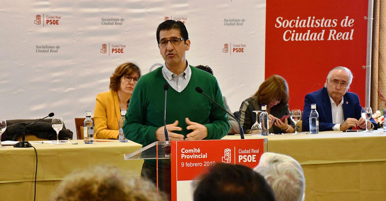 Caballero asegura que el PSOE de Ciudad Real afronta las elecciones de mayo en mejores condiciones que en 2015 tras haber cumplido con la ciudadanía
