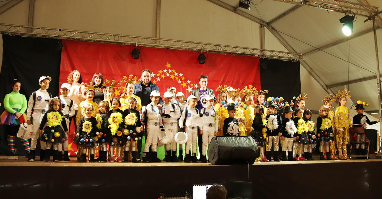 La fiesta infantil puso el broche de oro al Carnaval de Manzanares
