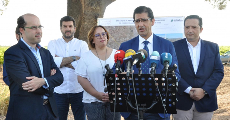 Caballero dice que desde 2015 han invertido en la red provincial 20 millones de euros