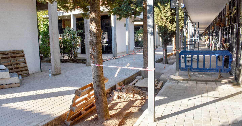 En marcha diversas obras de mantenimiento y mejora en el Cementerio municipal