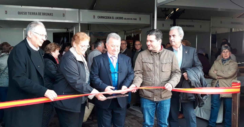 El vicepresidente David Triguero asiste a la inauguración de las III Jornadas Gastronómicas de Setas y Caza de Fuencaliente