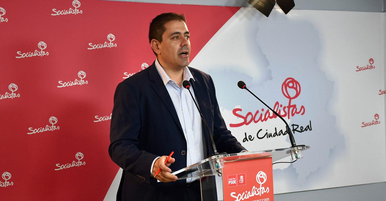 """Bolaños: """"Ha tenido que llegar Sánchez al gobierno, a pesar de Rosa Romero, para que se empiecen a ver las inversiones en la provincia de Ciudad Real"""""""