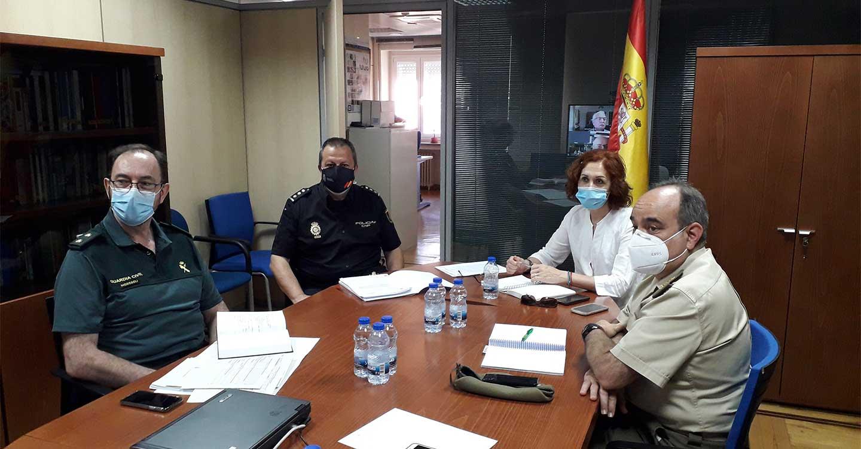 La subdelegada preside el 4º CECOP (Centro de Coordinación Operativo Provincial) para seguimiento de actuaciones del Plan de desescalada