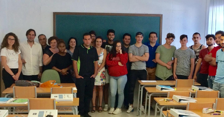 Veintidós jóvenes asisten en Bolaños a un itinerario de competencias claves dentro del proyecto Emplea
