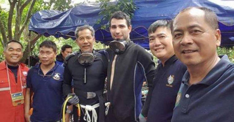 Fernando Raigal, buzo de Ciudad Real participa en el rescate de los niños de Tailandia