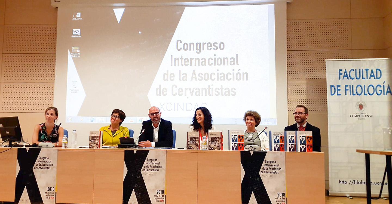 Jiménez participó en la presentación del libro del IV Premio