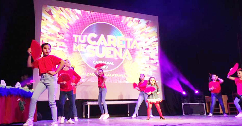 Gran éxito de participación en el Carnaval de Calzada de Calatrava