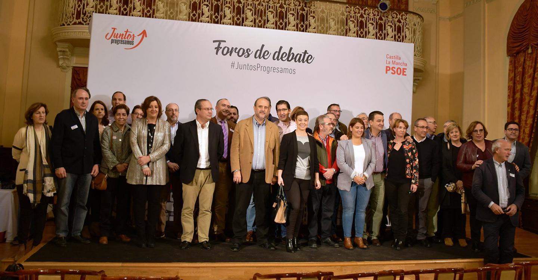 """Martínez Guijarro destaca los tres años de avances y mejoras en Castilla-La Mancha constatando que """"estamos mejor que antes"""""""