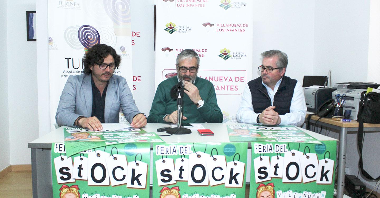 """El comercio de Villanueva de los Infantes celebra la FEria del """"Stock"""" los días 15, 16 y 17 de marzo"""