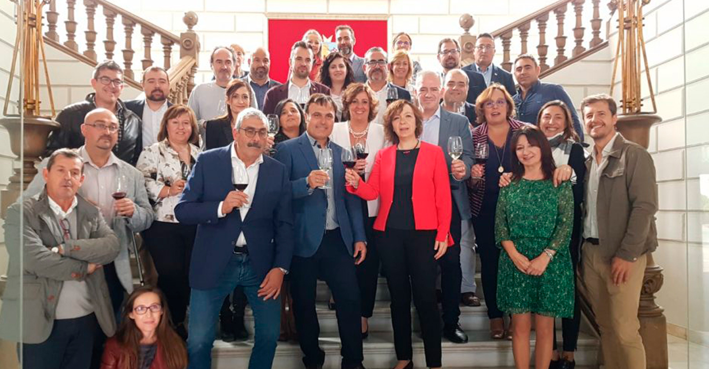 Rosario Herrera asiste a la presentación de la Ruta del Vino La Mancha en Alcázar de San Juan