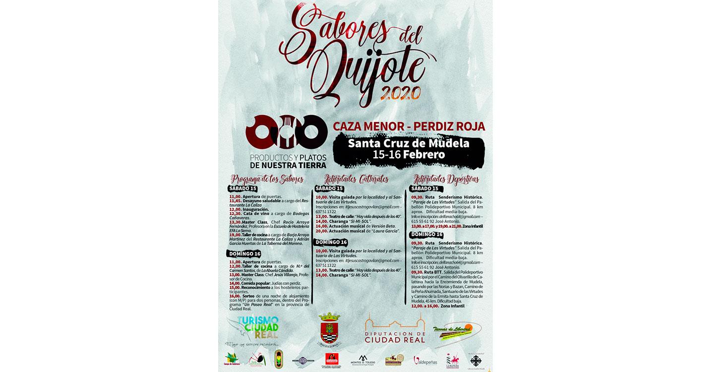 La caza menor y la perdiz roja protagonizan este fin de semana Los Sabores del Quijote en Santa Cruz de Mudela