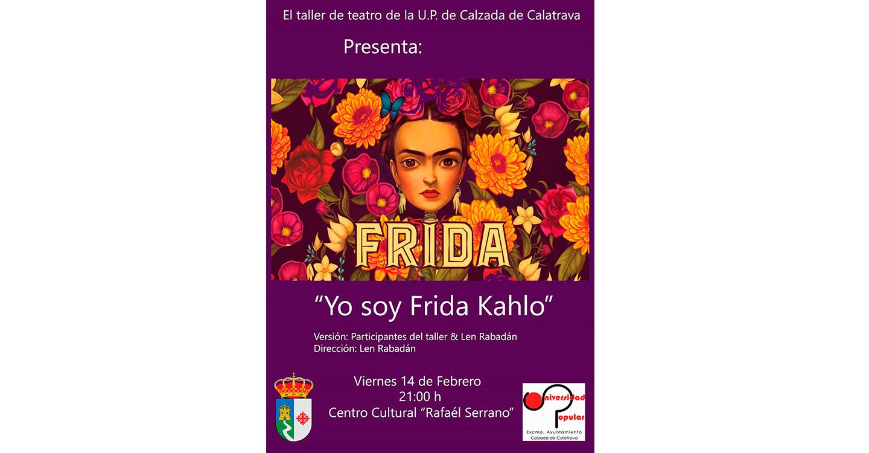 """La Universidad Popular de Calzada de Calatrava ha puesto en marcha un curso de reciclaje textil y mañana, 14 de febrero, el taller de teatro representará el espectáculo """"Yo soy Frida Kahlo"""