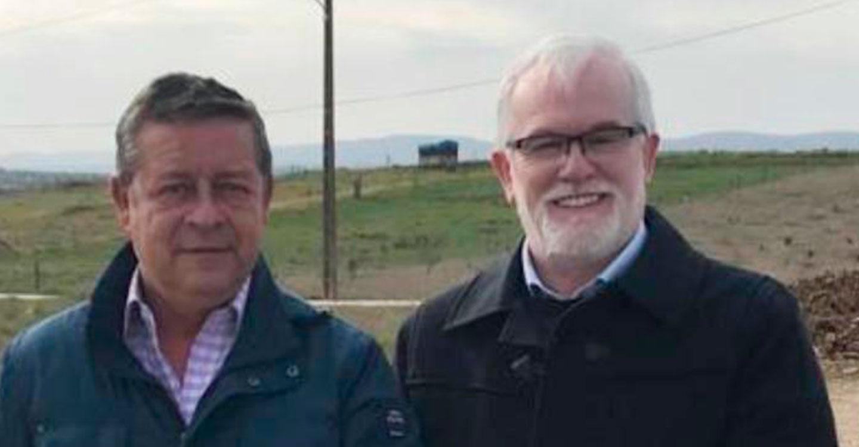 El candidato del PSOE a la Alcaldía de Villamayor de Calatrava traslada a Fomento la necesidad de acondicionar el tramo pendiente de la carretera CM-4115 con la N-420