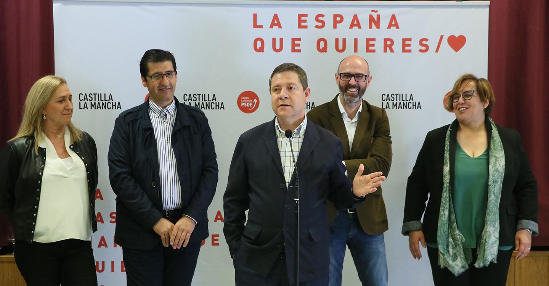 """García-Page asegura que la propuesta de homologación del Impuesto de Sucesiones acabaría con la """"pelea"""" entre territorios"""