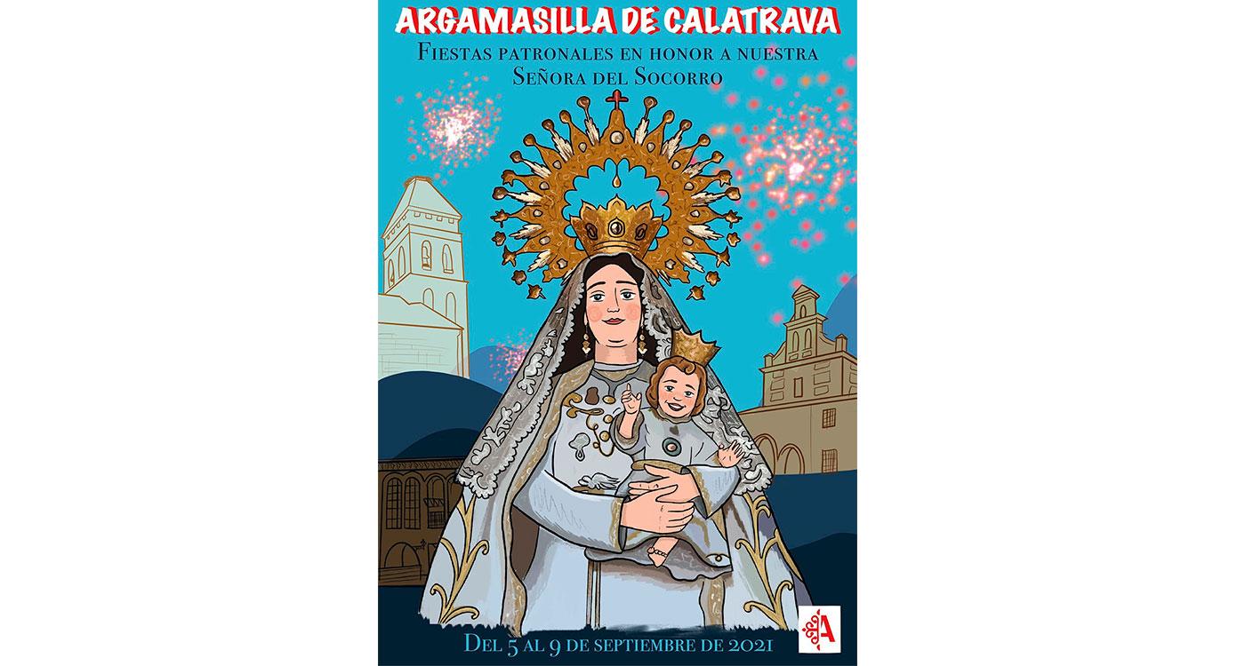 El arte de Keila García traslada un mensaje de esperanza en el cartel de las celebraciones patronales de septiembre