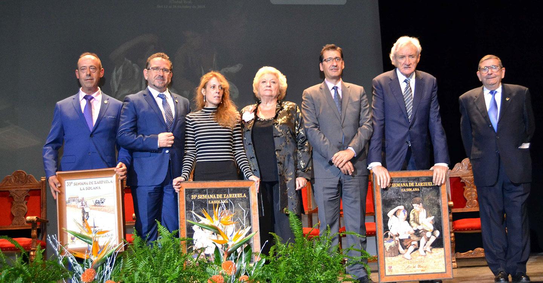 Luis de Olmo impulsa como capital mundial de la Zarzuela a La Solana, donde ya trabajan para declararla Fiesta de Interés Turístico Internacional