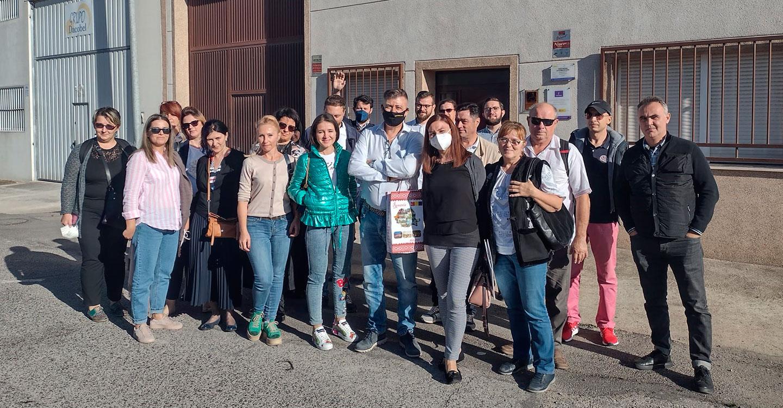 Oretania Ciudad Real participa en un encuentro con futuros emprendedores en economia social en el marco del proyecto europeo $E$- SOLIDARIO por una Economía Social