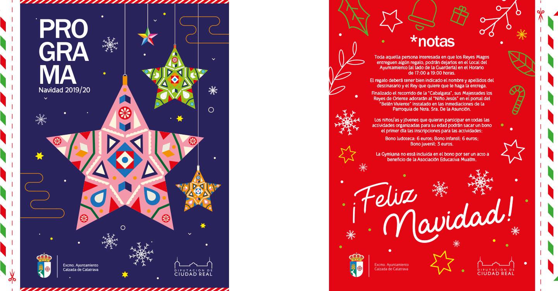 Calzada de Calatrava presenta la programación de `Navidades para todos´