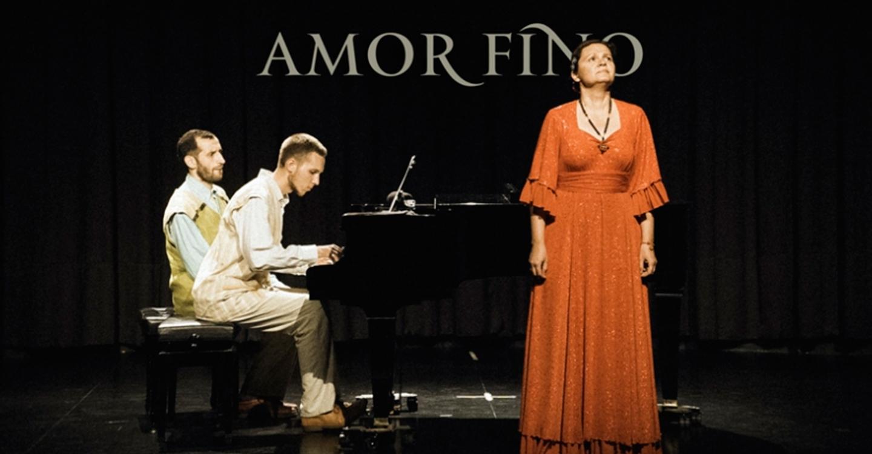 La voz y el piano serán protagonistas del concierto de Amor Fino, este viernes en La Confianza