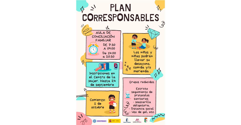 El Ayuntamiento de Calzada de Calatrava se acoge al Plan Corresponsables