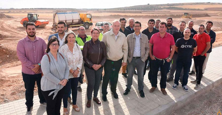 La Diputación desbloquea y soluciona los graves problemas de desnivel que presenta en el polígono industrial de Carrión