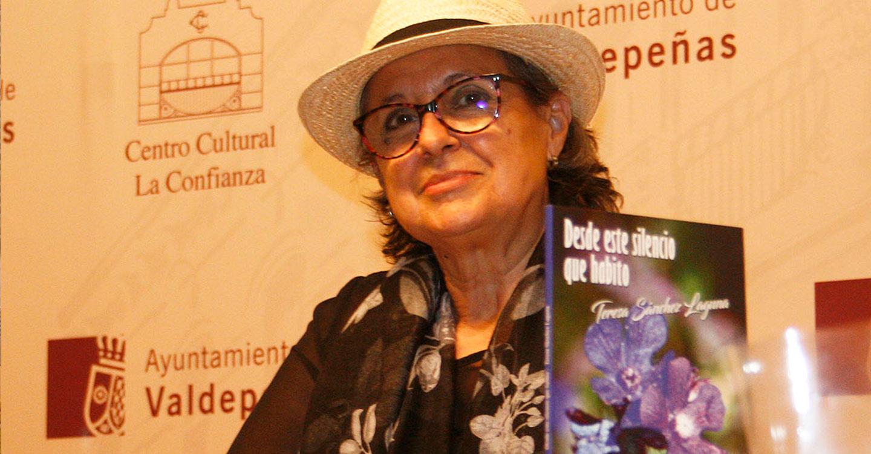 La poetisa Eloísa Pardo Castro participará en el recital 'Palabras en silencio' que tendrá lugar el 23 de octubre, primer sábado de la Feria del Libro en Puertollano